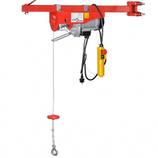 Elektrischer Seilhebezug 1000 W 200/400 kg - Vorschau 3