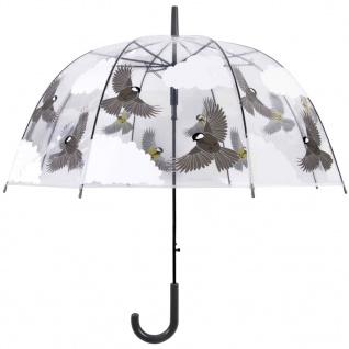 Esschert Design Regenschirm 81 cm Vögel Beidseitig Bedruckt TP274