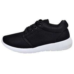 Frauen Schnürschuhe Laufschuhe Sportschuhe schwarz Größe 38