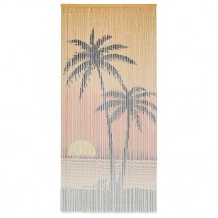 vidaXL Insektenschutz Türvorhang Bambus 90 x 200 cm