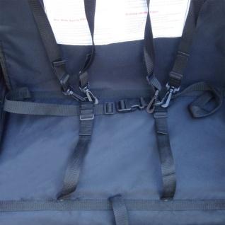 vidaXL Kinder Fahrradanhänger mit zusätzlicher Kupplung Rot 36 kg - Vorschau 2
