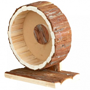 TRIXIE Nager-Laufrad Natural Living 20 cm Holz 61035