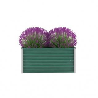 vidaXL Gartenpflanzen Verzinkter Stahl 100x40x45 cm Grün - Vorschau 1