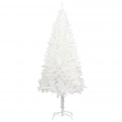 vidaXL Künstlicher Weihnachtsbaum mit Ständer Weiß 240 cm PE
