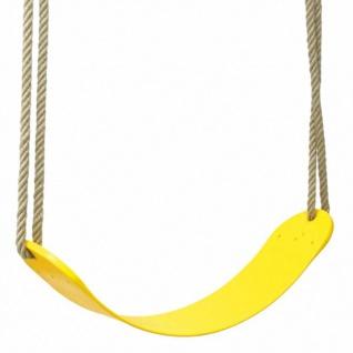 Swing King Kunststoff-Schaukelsitz Flex gelb 2521032