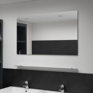 vidaXL Wandspiegel mit Regal 100×60 cm Hartglas