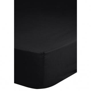 Emotion Bügelfreies Spannbettlaken 160x200 cm Schwarz 0220.04.45