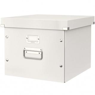 Leitz Ablage- und Transportbox für Hängeregistratur WOW Weiß
