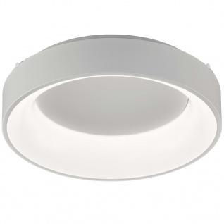 Wofi LED-Deckenleuchte Cameron 45x11 cm Weiß