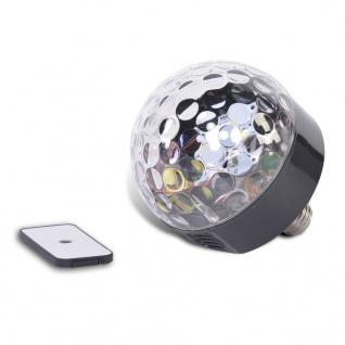 Party Fun Lights LED Bluetooth Disco Lautsprecher mit Fernbedienung