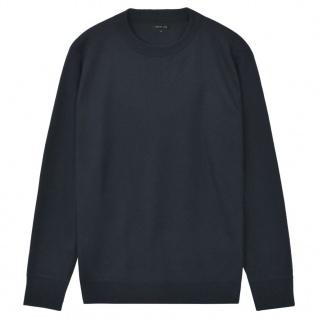 vidaXL Herren Pullover Sweater Rundhals Marineblau XXL