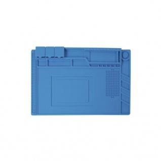 Velleman Lötmatte Silikon 45x30 cm Blau