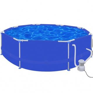 Schwimmbecken Planschbecken Schwimmbad Pool + Pumpe