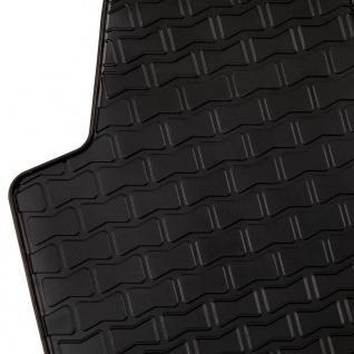 vidaXL Gummi-Fußmatten-Set 4-tlg. für VW Polo Ibiza - Vorschau 4
