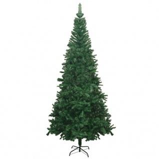 vidaXL Künstlicher Weihnachtsbaum L 240 cm Grün