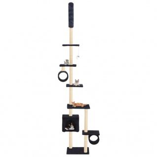 vidaXL Katzenbaum mit Sisal-Kratzsäulen 260 cm Dunkelblau