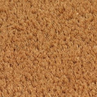 vidaXL Natürliche Fußmatte Coir 17 mm 100x100 cm - Vorschau 2
