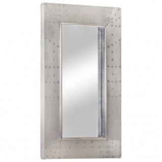 vidaXL Aviator-Spiegel 80x50 cm Metall