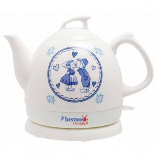 Bestron Keramik-Wasserkocher DTP800H Weiß 0, 8 L