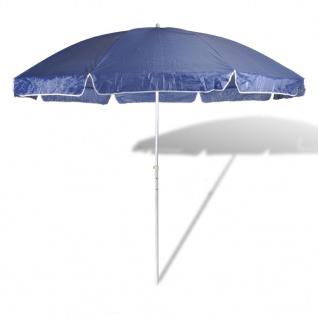 300cm Sonnenschirm Strandschirm Schirm Blau