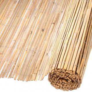 Nature Garten-Sichtschutz Bambus 1, 5x5 m