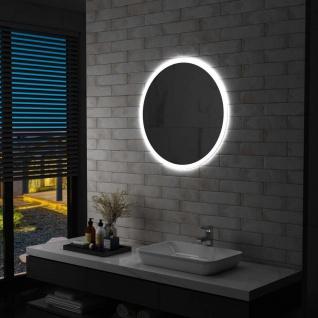 vidaXL Badezimmerspiegel mit LED 70 cm