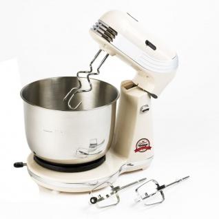 Bestron AKM100RE Küchenmaschine Standmixer 250 W cremefarben