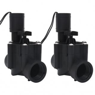 vidaXL Magnetventile für Wasserbewässerung 2 Stk. AC 24V