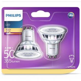 Philips LED-Lampen 2 Stk. Classic 4, 6 W 355 Lumen 929001215231
