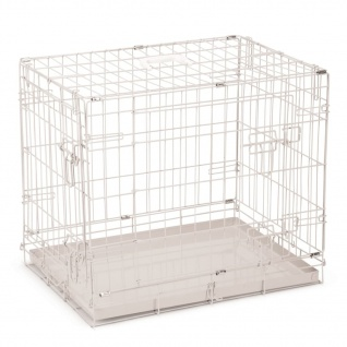 Beeztees Hundekäfig 62×44×49 cm Grau