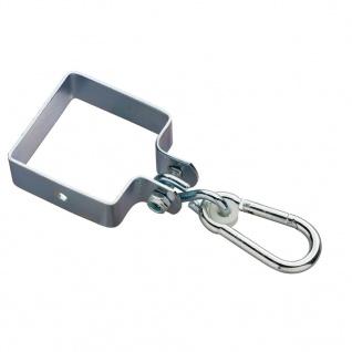 Swing King Schaukelhaken quadratisch 90 x 90 x 3 mm verzinkt 2520029