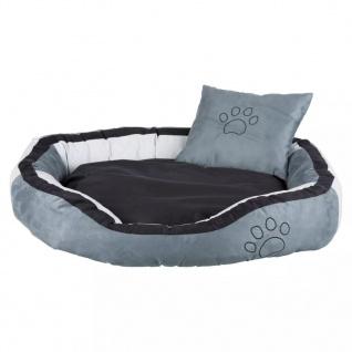 TRIXIE Hundebett Bonzo 120 x 80 x 25 cm Grau und Schwarz 37718