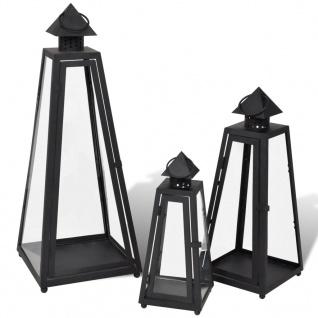Windlicht Kerzenhalter Gartenlampe Gartenlaterne B