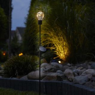 Luxform LED Solar Gartenstecker Bottle 2 Stk.