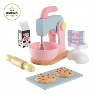 KidKraft Spielzeug-Backset 10-teilig Pastellfarben 63371