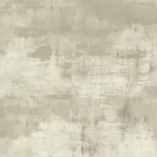couleurs & matières Tapete Scratchy Clouds Grau und Grün - Vorschau 1