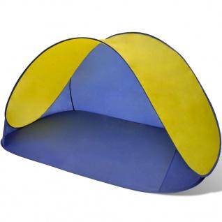 Außen Strandzelt Zelt wasserdicht Sonnendach Gelb