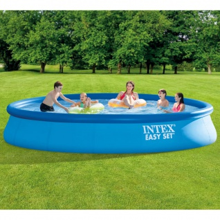 Intex Schwimmbecken Easy Set mit Filtersystem 457x84 cm