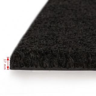 vidaXL Fußmatte Kokosfaser 17 mm 100 x 200 cm Schwarz - Vorschau 3