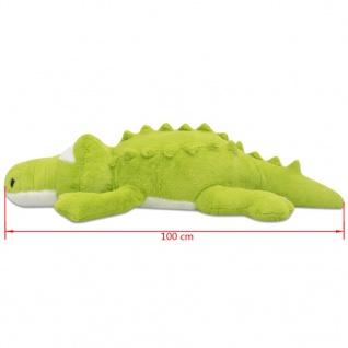 vidaXL Kuscheltier Krokodil XXL 100 cm - Vorschau 5