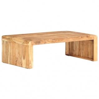 vidaXL Couchtisch 110x63x35 cm Massivholz Akazie