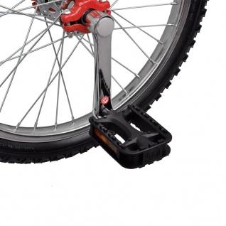 Einstellbares Einrad 50, 8 cm rot - Vorschau 4