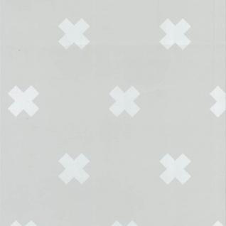 Fabulous World Tapete Cross Grau und Weiß 67104-1 - Vorschau 2