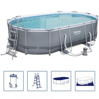 Bestway g nstig sicher kaufen bei yatego for Stahl pool eckig