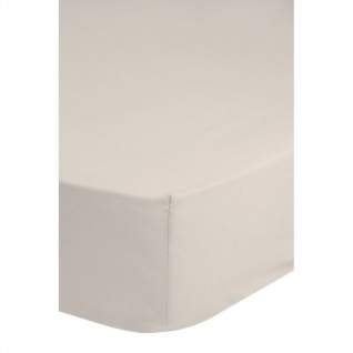 Emotion Bügelfreies Spannbettlaken 90x220 cm Sand 0220.06.43