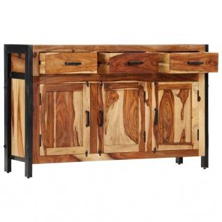 vidaXL Sideboard 120x35x75 cm Massivholz Palisander - Vorschau 3