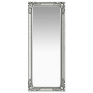 vidaXL Wandspiegel im Barock-Stil 50 x 120 cm Silbern