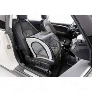 TRIXIE Haustier-Autositz 44x37x40 cm Grau und Schwarz