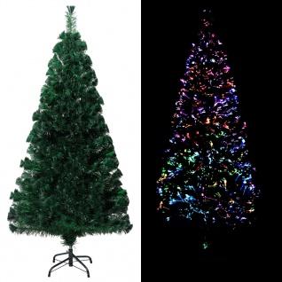 vidaXL Künstlicher Weihnachtsbaum mit Ständer Grün 150 cm PVC