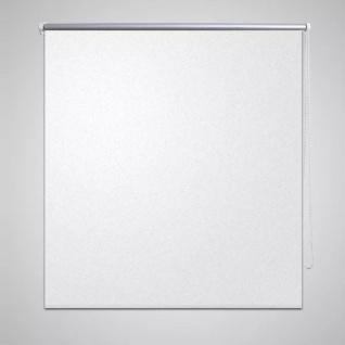 Verdunkelungsrollo Verdunklungsrollo 100 x 175 cm weiß